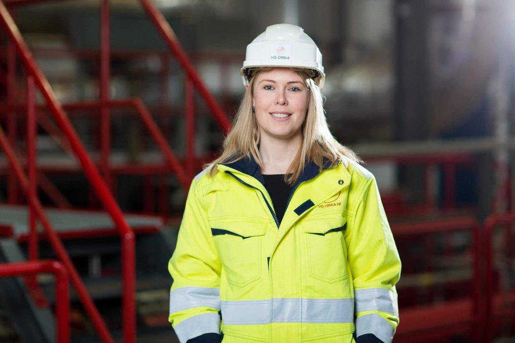 Kristín Vala Matthíasdóttir, framkvæmdarstjóri Auðlindagarðs – Orkuverinu Svartsengi.